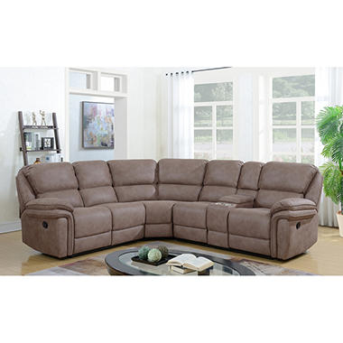 Langston Complete 3 Piece Reclining Sectional
