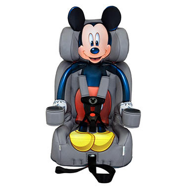 KidsEmbrace Friendship Booster Car Seat Mickey Mouse