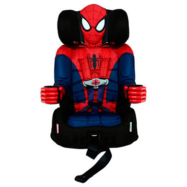KidsEmbrace Friendship Combination Booster Car Seat Spiderman