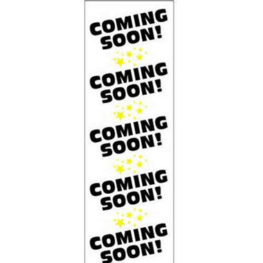T3 Digital Vinyl Coming Soon Banner, 2' x 6'