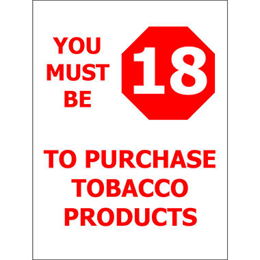 T3 - Must be 18/ Tobacco - 6