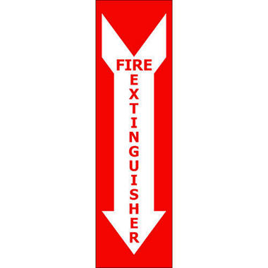 T3 Fire Extinguisher Decal,  4