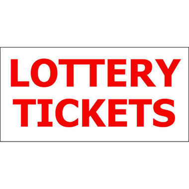 T3 Lottery Tickets Decal, 6