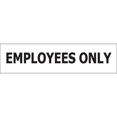 T3 Employees Only Decal,  8