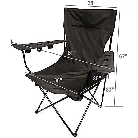 Creative Outdoor Giant King-Pin Folding Chair (Various Colors)