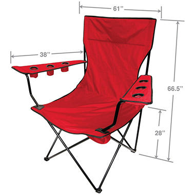 Creative Outdoor Giant King Pin Folding Chair (Various Colors)