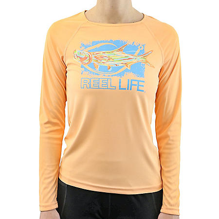 Reel Life Ladies Long Sleeve UV Tee