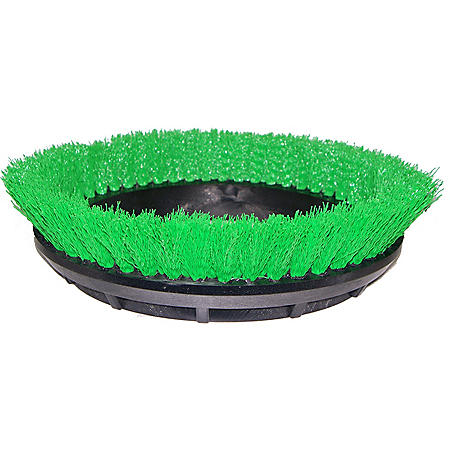 "Bissell Commercial Scrub Brush, Green (12"")"