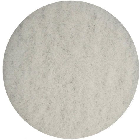 """Bissell Commercial Polish Pads, White (12"""")"""