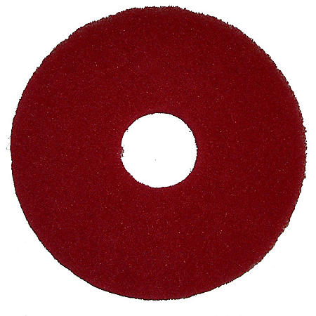 """Bissell Commercial Polish Pad, Red (12"""")"""