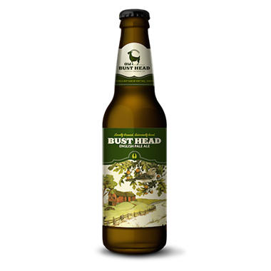 Bust Head English Pale Ale (12 fl. oz. bottle, 6 pk.)