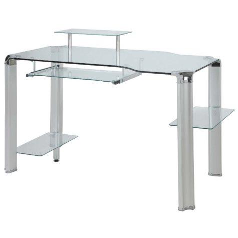 Innovex Fusion Glass Desk