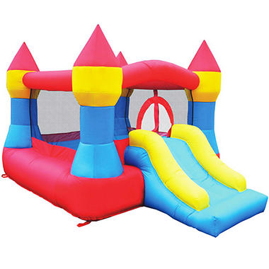 Castle Bouncer and Slide