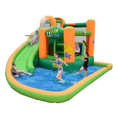 Endless Fun 11-in-1 Inflatable Bounce House and Waterslide Combo