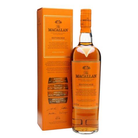 The Macallan Edition No. 2 Scotch Whisky (750 ml)