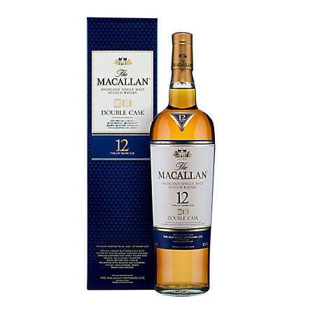 The Macallan Double Cask 12 Year Old Whisky (750 ml)