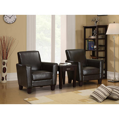 Serta Brighton 2-Piece Cigar Chairs