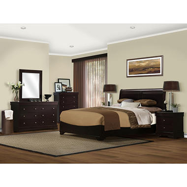 Serta Sydney Bedroom Set - Cal King - 6 pc.