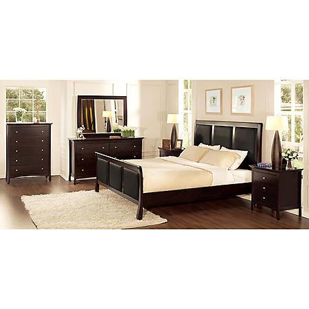 Serta Princeton Bedroom Set - Cal King - 6 pc.