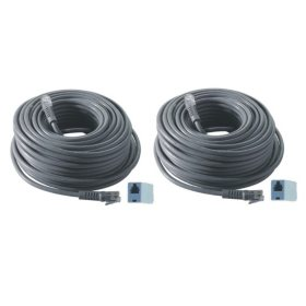 Revo 2 Pack Bundle of 100' Quick Connect RJ12 Cable