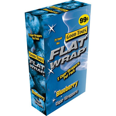 Good Times Flat Wraps, Blueberry (50 ct.)