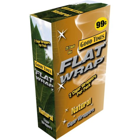 Good Times Flat Wraps, Natural (50 ct.)