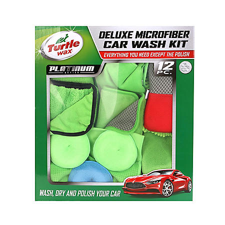 Turtle Wax Platinum 12-Piece Car Wash Club Pack
