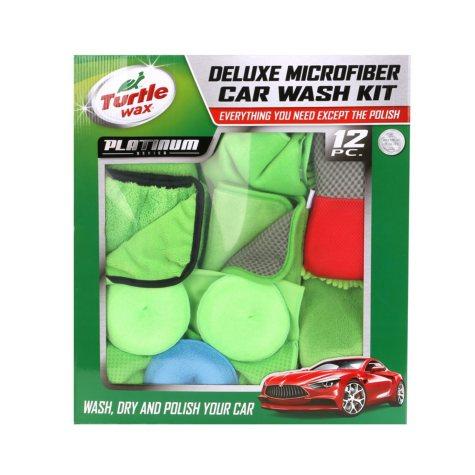 Turtle Wax Platinum 12-Piece Car Wash Club Pack