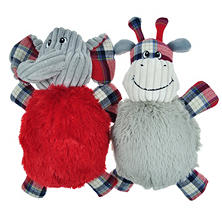 Mugsy's Fall Plaid Dog Toy Pack (Choose Your Pack)