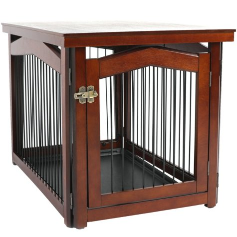Zoovilla 2-in-1 Configurable Pet Crate and Gate (Choose Your Size)