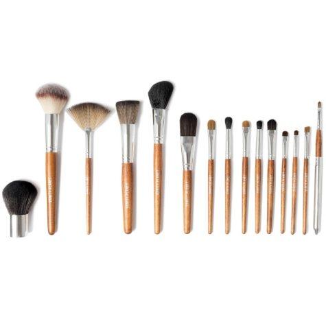Vanity Planet Palette Essential 15-Piece Makeup Brush Set