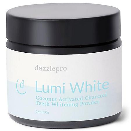 Dazzlepro Lumi White | Activated Charcoal Teeth Whitening Powder
