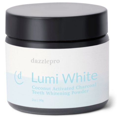 Dazzlepro Lumi White | Activated Charcoal Teeth Whitening Powder