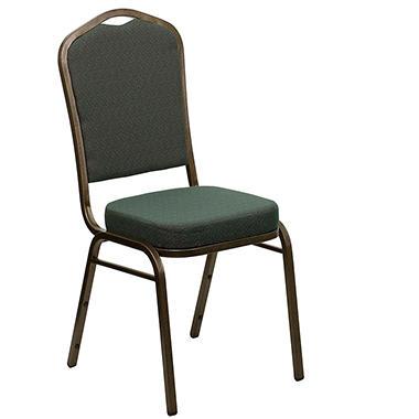 Flash Furniture Fabric Crown Back Banquet Chair Green - Sam\'s Club