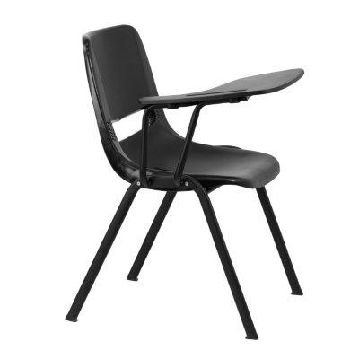 Black Right Side Tablet Arm Chair Desk 20 Pack Sams Club
