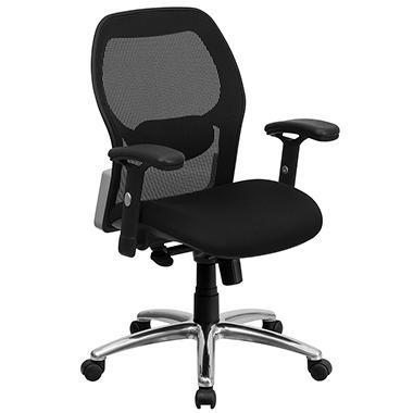 Mesh Office Chair With A Black Mesh Seat Sam S Club