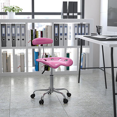 Flash Furniture Tractor Seat Task Chair, Select Color