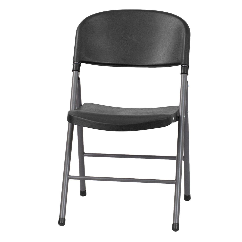 Hercules Plastic Folding Chair Black Sam s Club