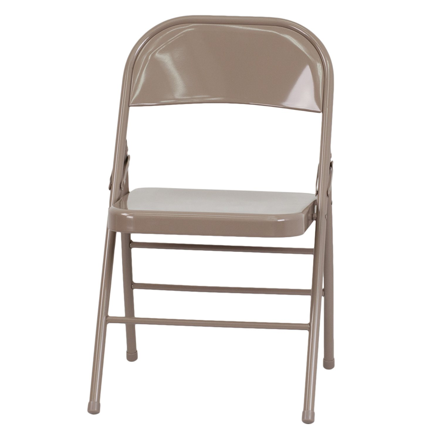 Hercules Metal Folding Chairs Beige Sam s Club