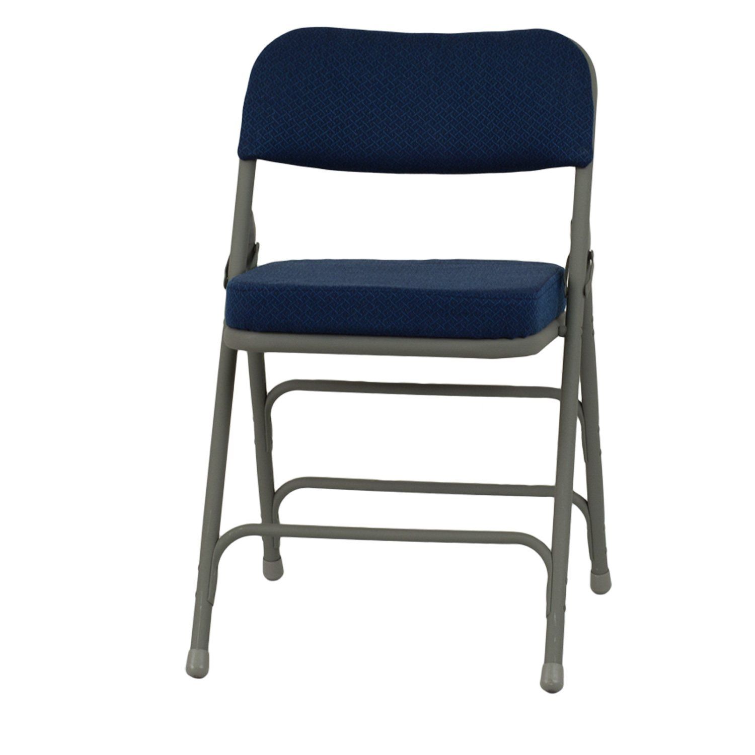 "Hercules 2 1 2"" Padded Metal Folding Chairs Navy Sam s Club"
