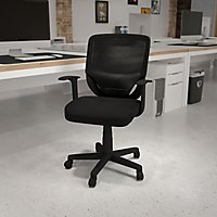 Flash Furniture Mid Back Mesh Office Chair  BlackFlash Furniture Mid Back Mesh Computer Chair  Black   Sam s Club. Flash Furniture Mid Back Office Chair Black Leather. Home Design Ideas