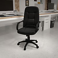 serta leather manager s office chair black sam s club