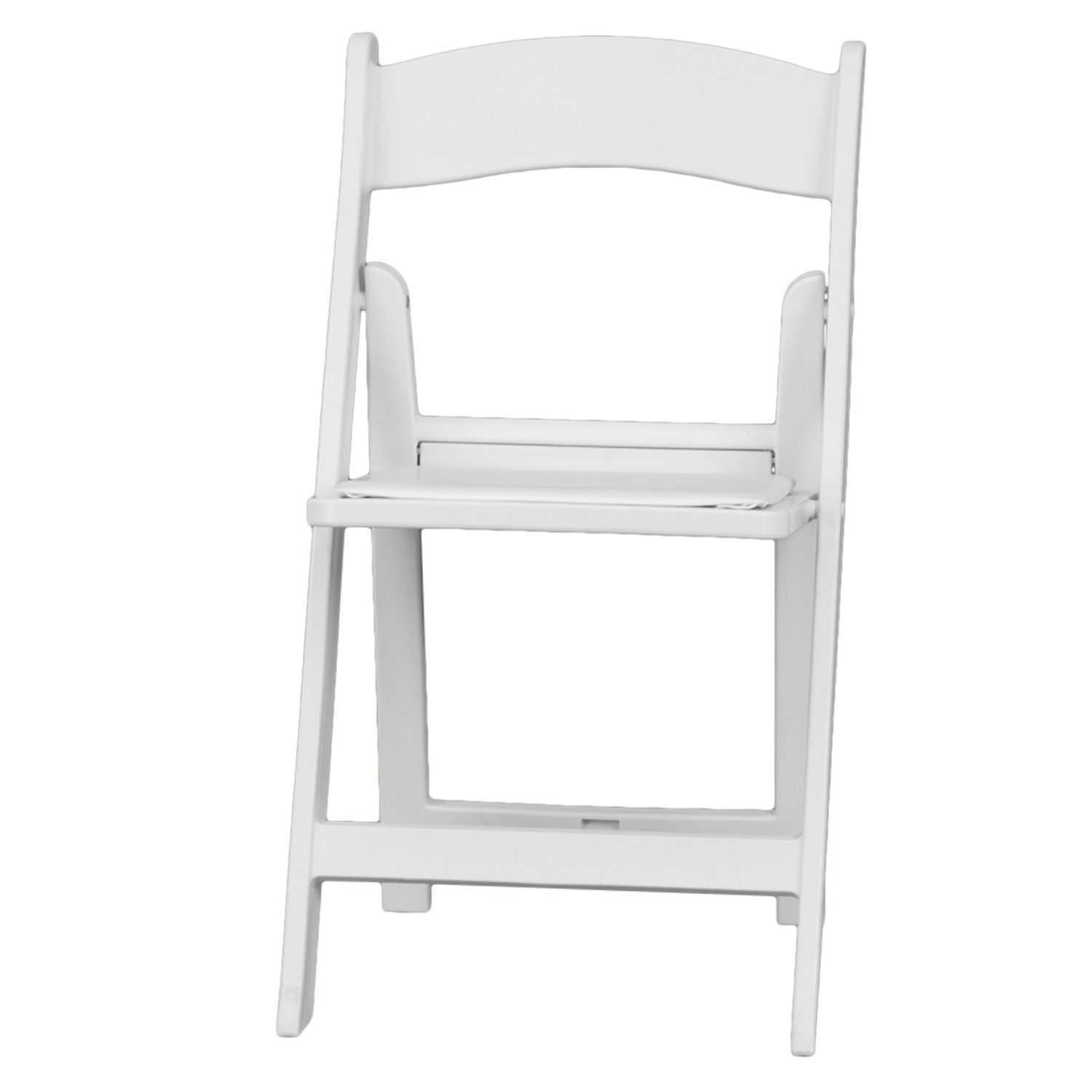 28 Folding Nylon Chairs 5 Commercial White Plastic