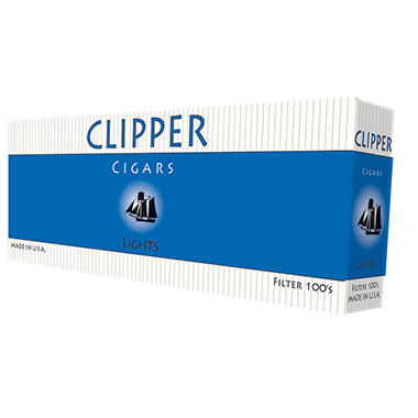 Clipper Cigars Gold 100s - 200 ct.