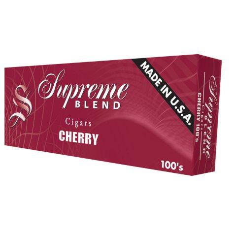 Supreme Blend Cherry Cigars 100s 1 Carton