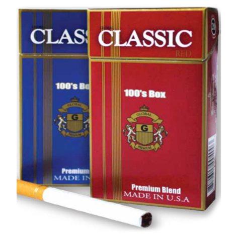 Classic Silver 100 Box 1 Carton