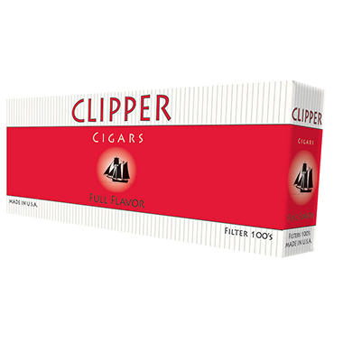 Clipper Cigars Full Flavor 100s Box - 200 ct.