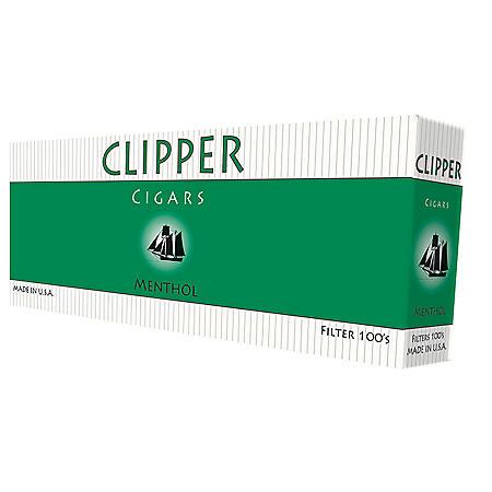 Clipper Cigars Menthol 100s Box (20 ct., 10 pk.)