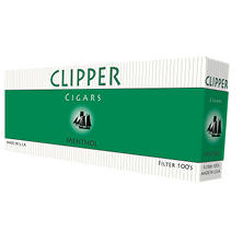 Clipper Cigars Menthol 100s Box - 200 ct.