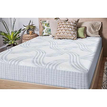 "Scott Living 12"" Queen Hybrid Mattress Bed in a Box (Club Pickup)"